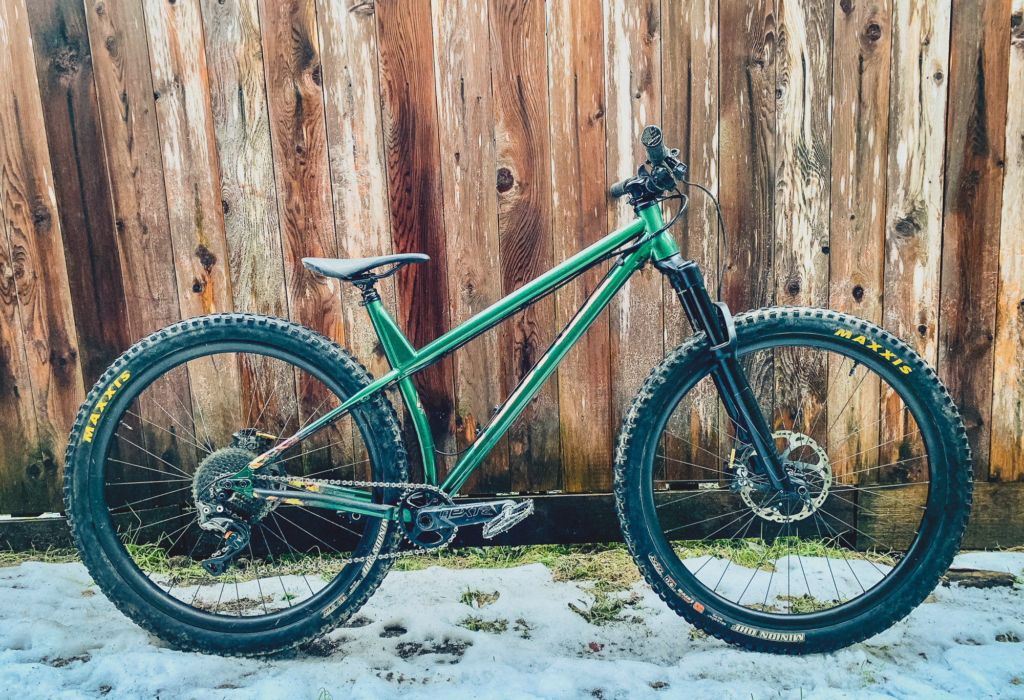 42ffcc32e61 Like Matt, this bike is a brawler. Matt can ride faster than you can on  this hardtail and that ain't no joke. Long high speed days in Squamish  require a ...
