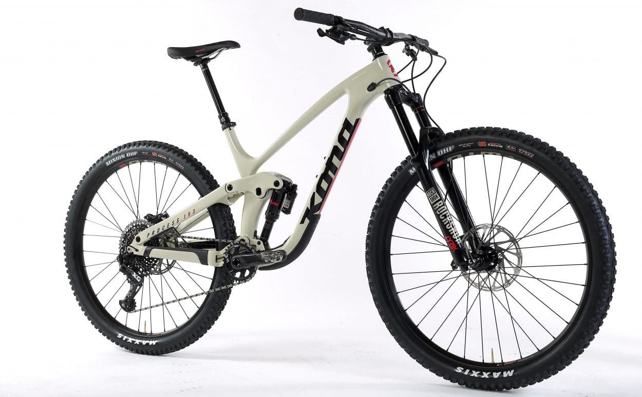 """c7ed512ef33 Mountain Bike Action Reviews The Process 153 CR DL 29 """"The Process was made  for the descents"""""""