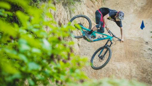 Kiwi Kona Riders Pay Dirt Farm NZ Bikepark a Visit