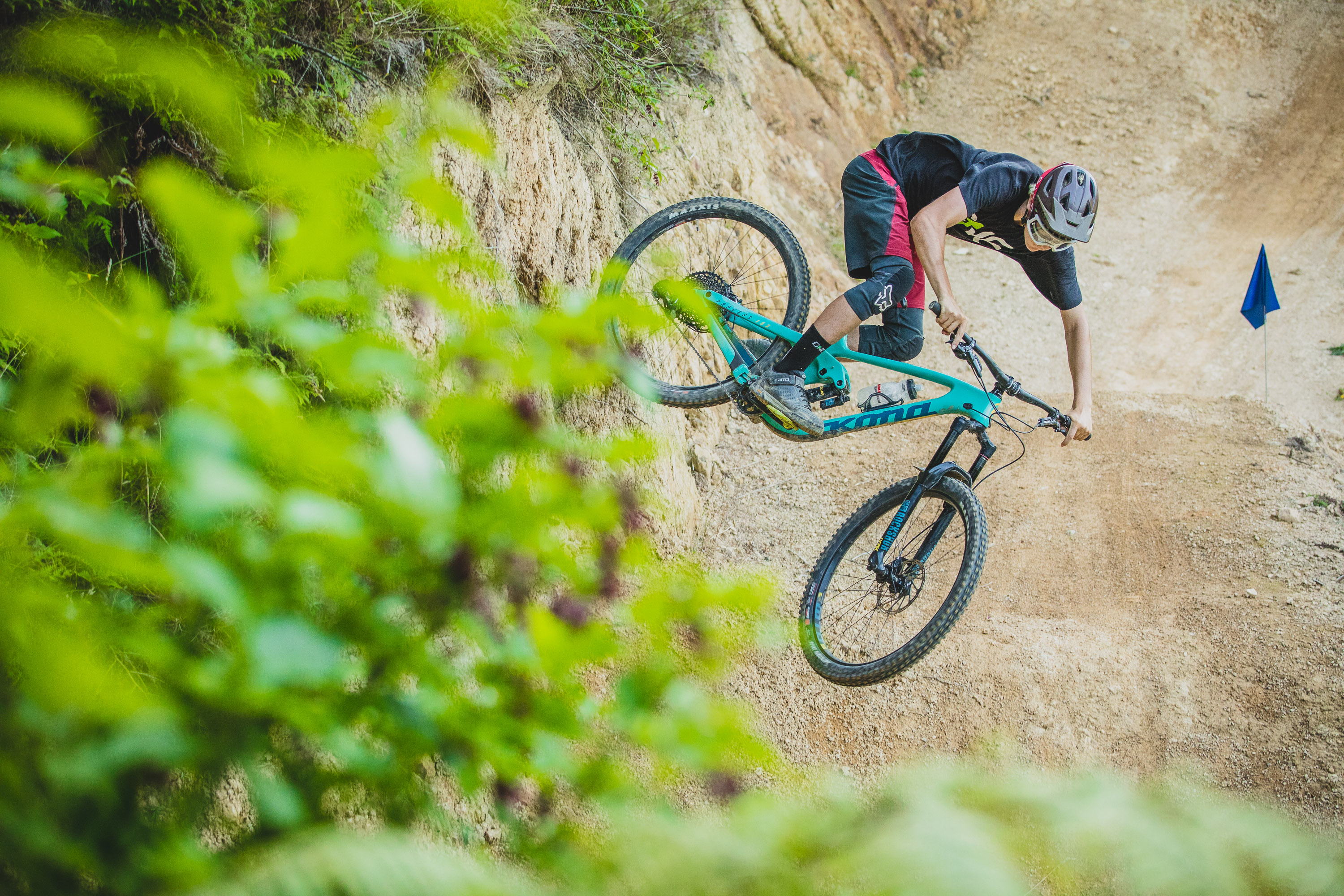Kiwi Kona Riders Pay Dirt Farm NZ Bikepark a Visit