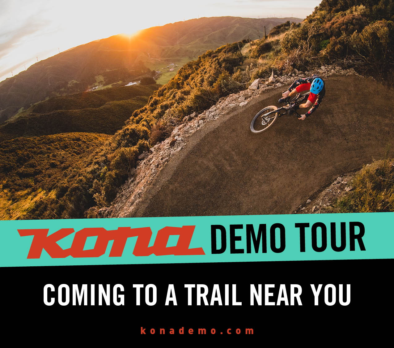Oregon and Washington, the KONA demo tour is headed your way!