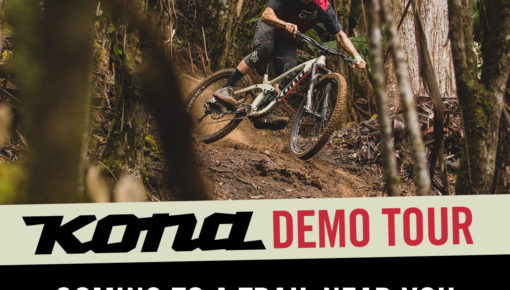 Arkansas, Oklahoma, Kansas, & Missouri, the KONA demo tour is headed your way!