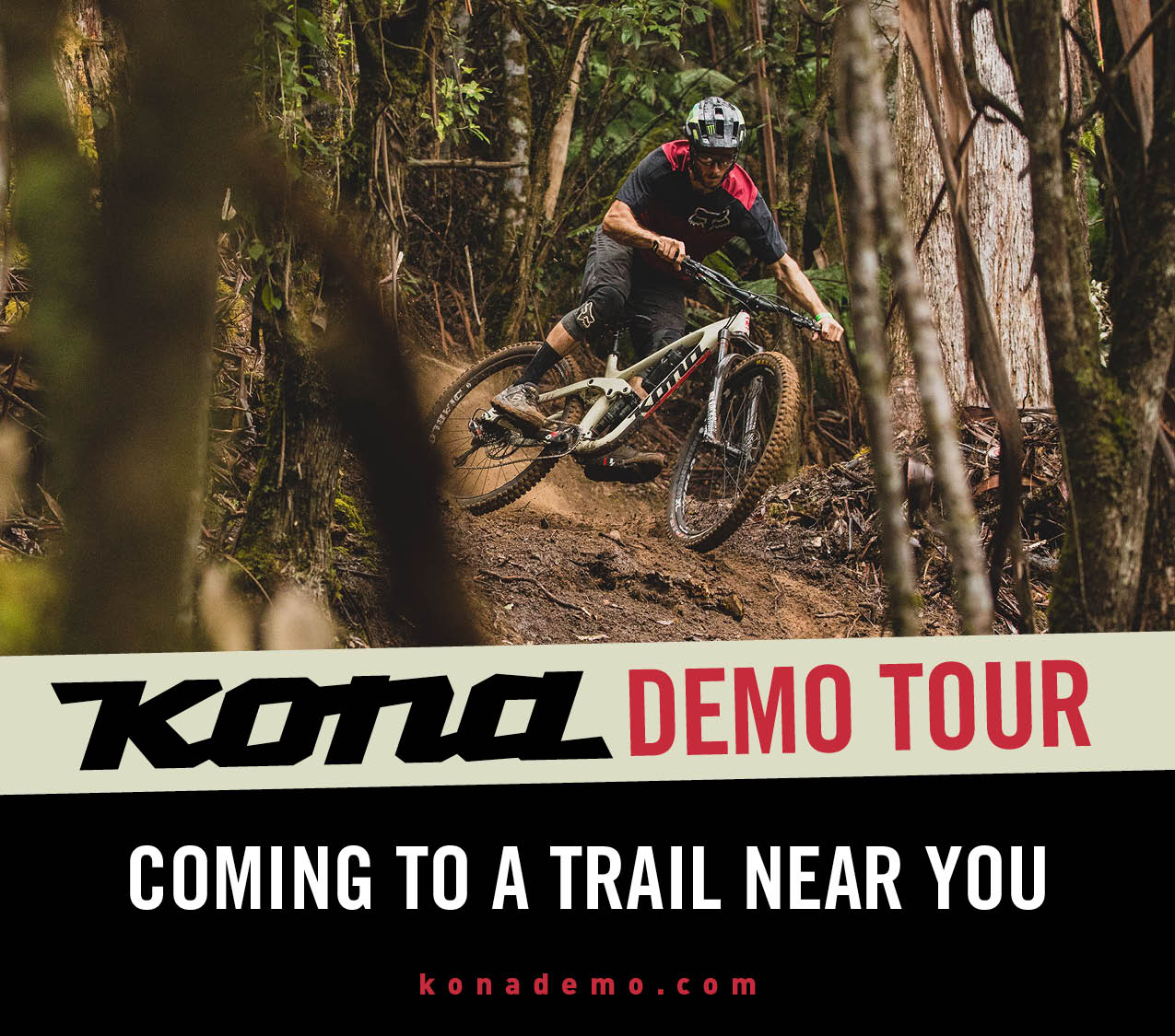 Arkansas, Oklahoma, Kansas, & Missouri, the KONA demo tour is headed your way!
