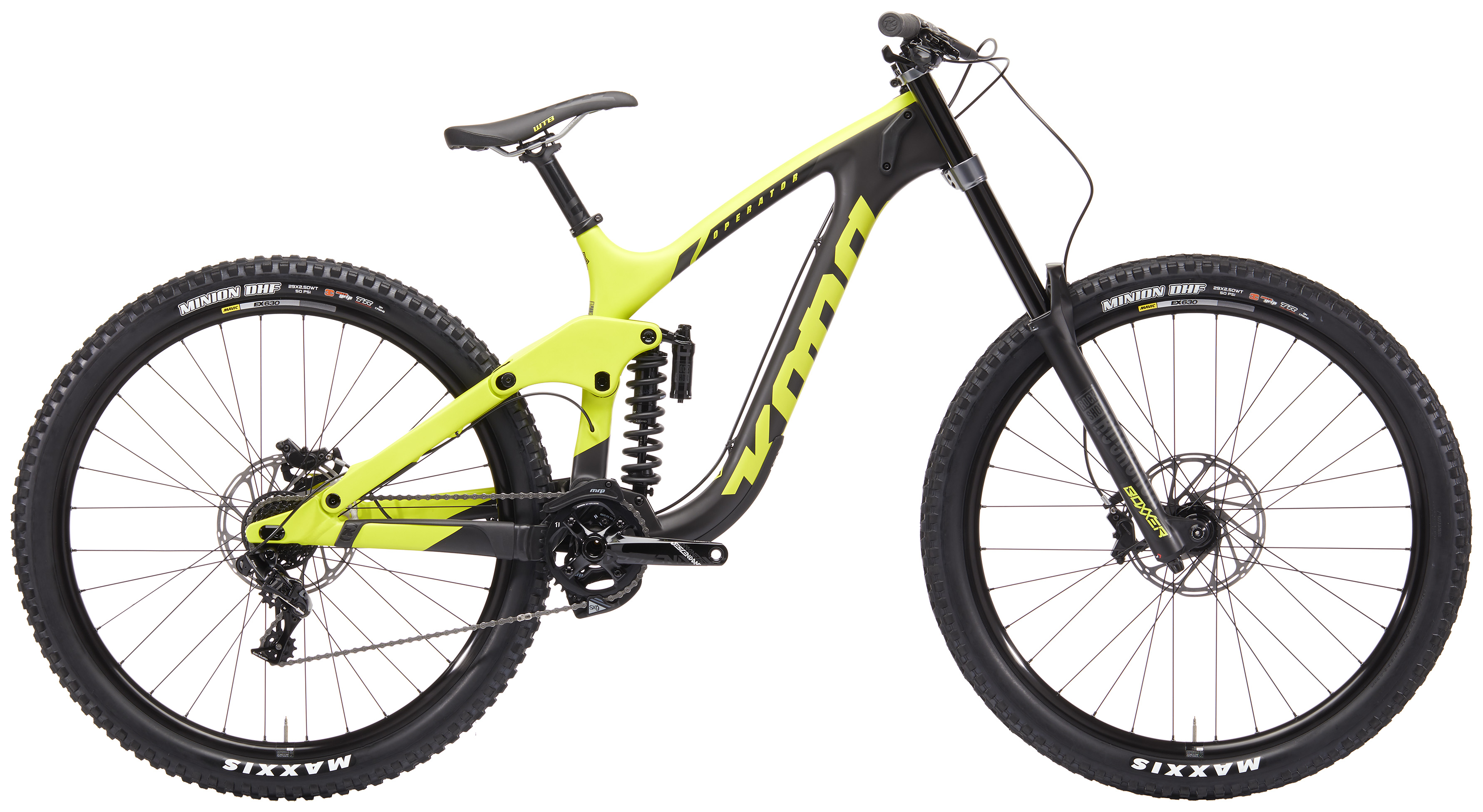Mountain Bike Action Reviews the Operator CR