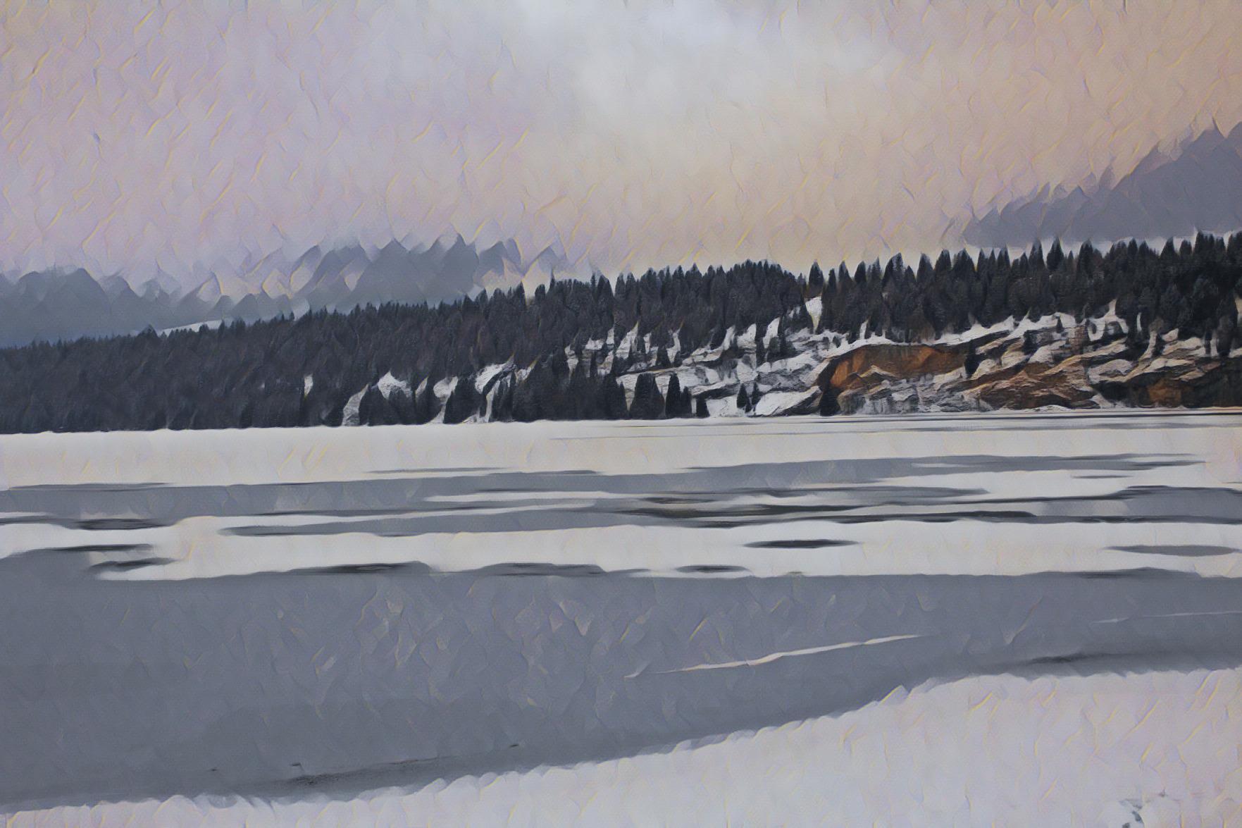 Frozen Lake Ride