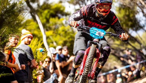 Connor Fearon Finishes in Third Place at Round Two of the EWS in Tasmania