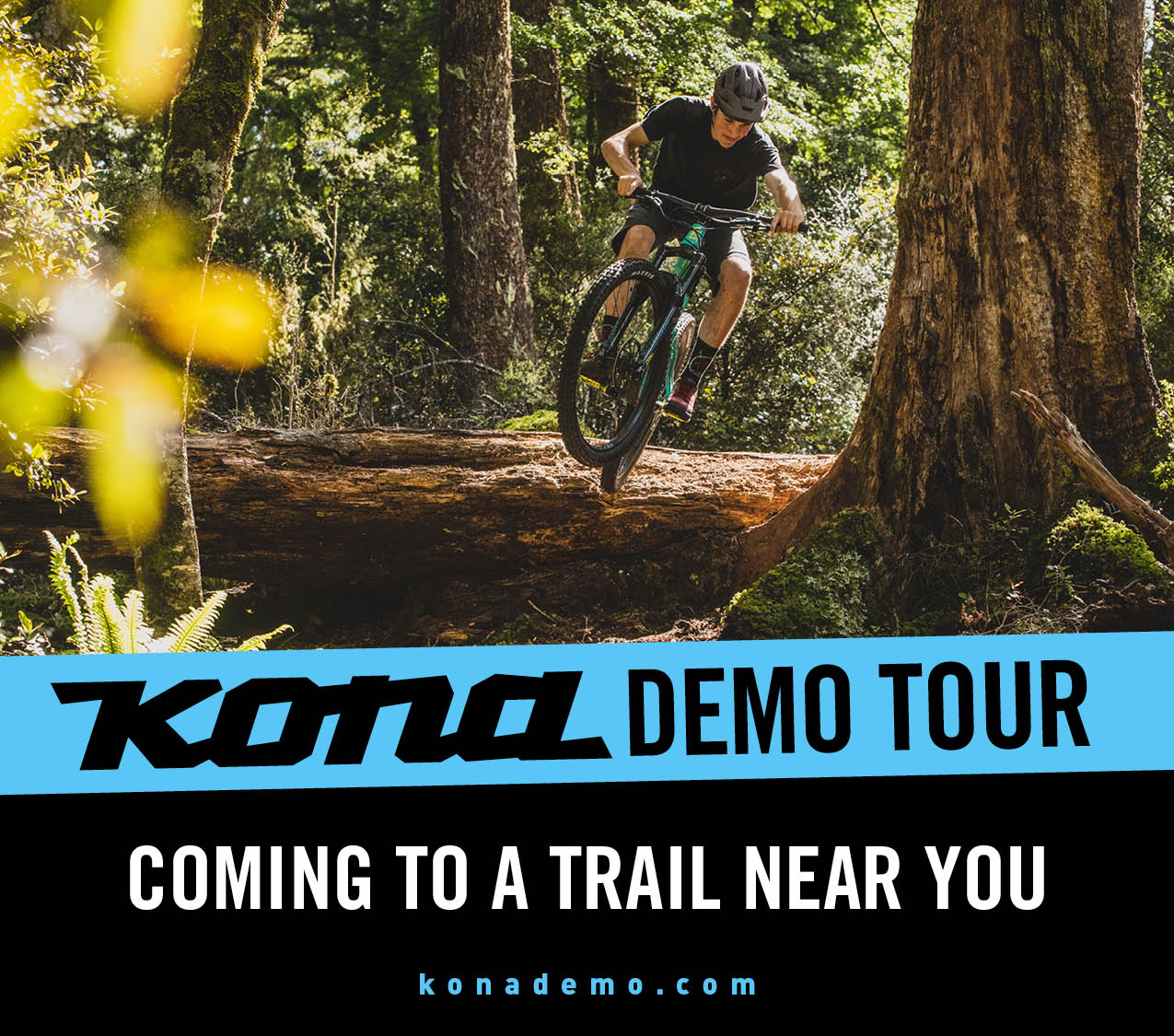California, the KONA demo tour is headed your way!