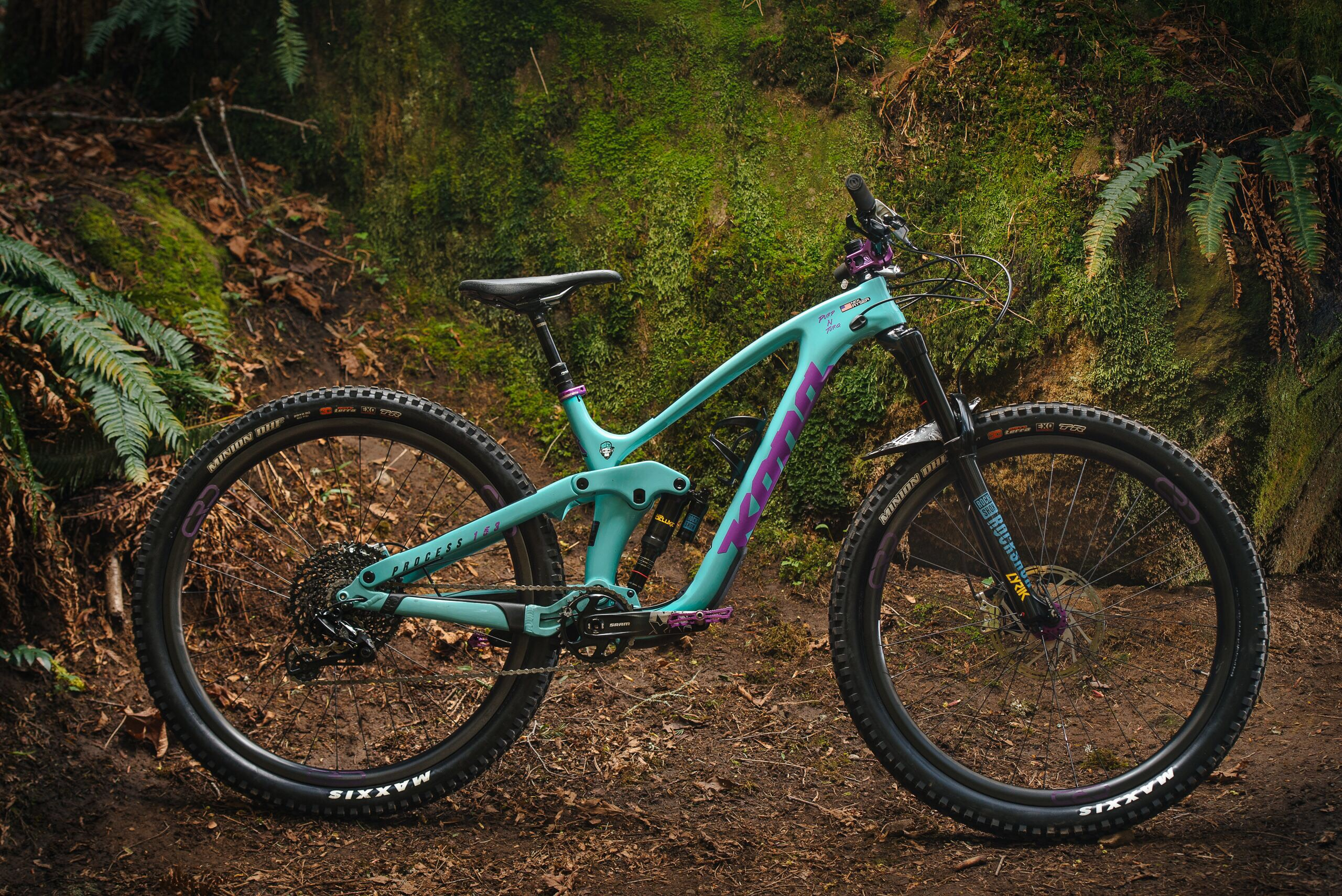 Kona Dream Builds: Purp 'n' Turq – Nick's Custom Process CR