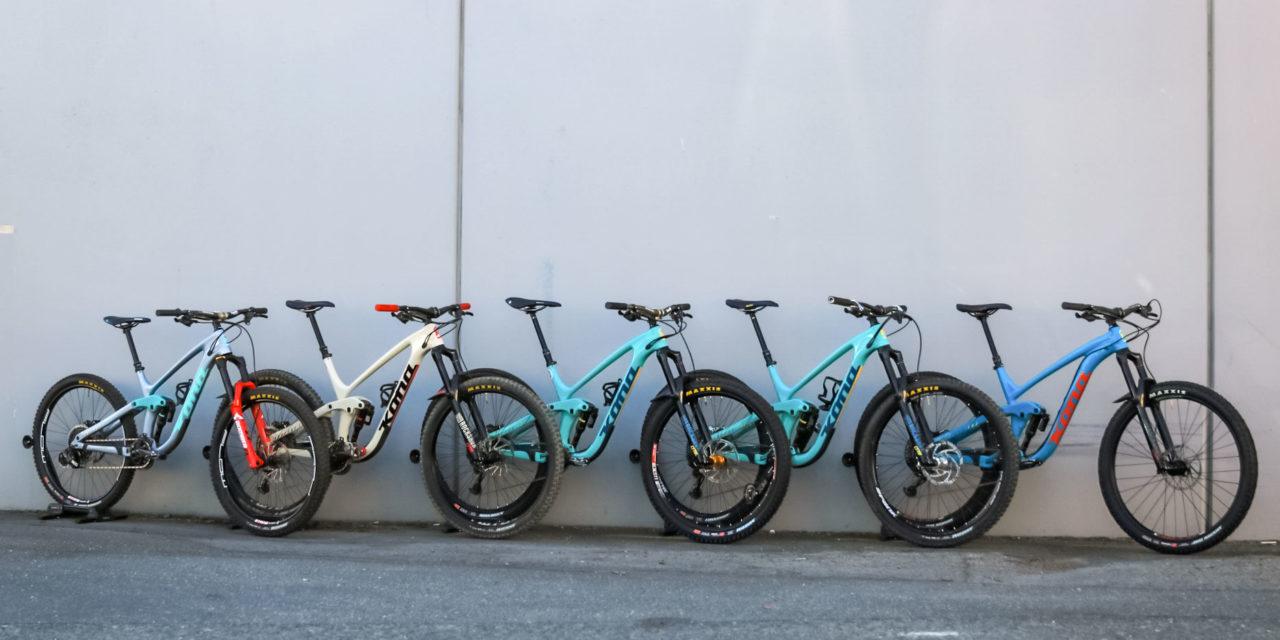 Kona Dream Builds: Three's Company – The Bike Station's Staff Rides.