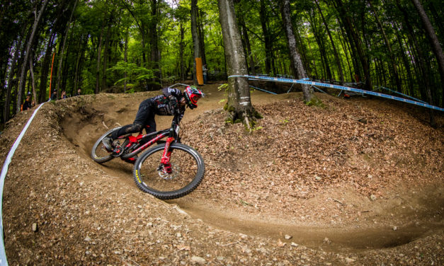 Watch Connor Fearon at Round 1 of The UCI DH World Cup in Maribor Live