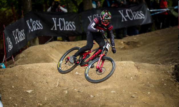 Connor Fearon Takes on Round 1 of the UCI DH World Cup in Slovenia