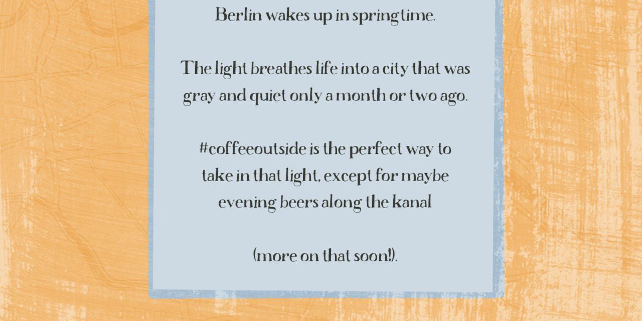 Berlin, Bikes, and Coffee