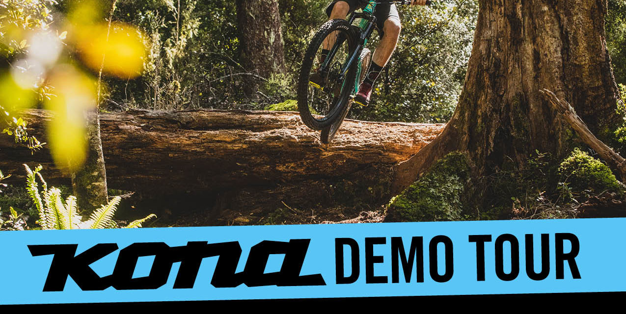 Montana and Oregon, the KONA demo tour is headed your way!