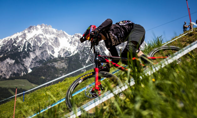 Connor 8th in Leogang