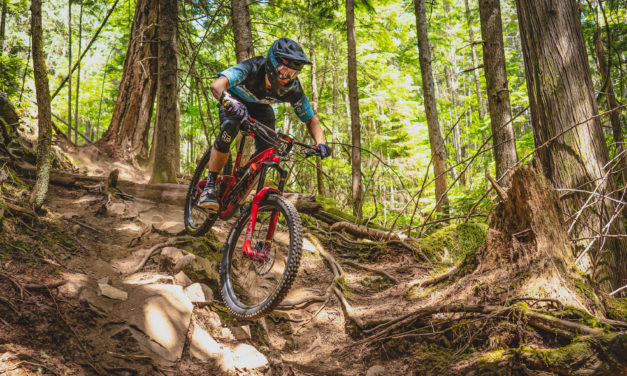 Rhys Verner Wins Squamish Enduro on Home Turf