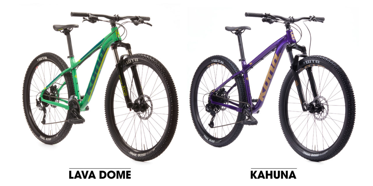 Introducing the 2020 Kona Hardtails!