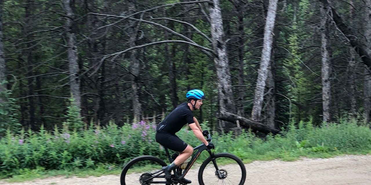 Cory Wallace at the Breck Epic