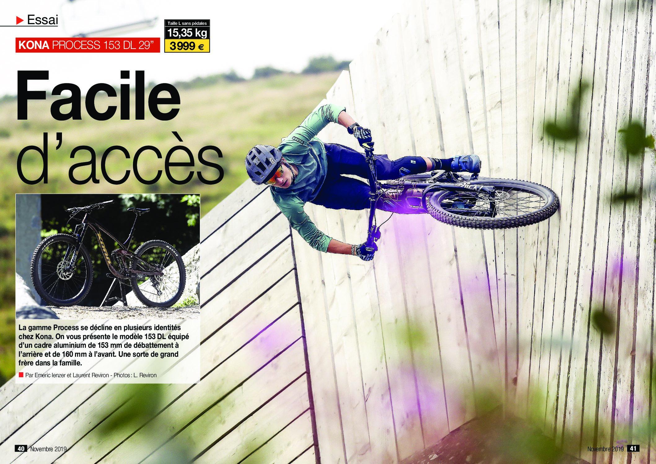 VTT Magazine loved our Process 153 DL 29!