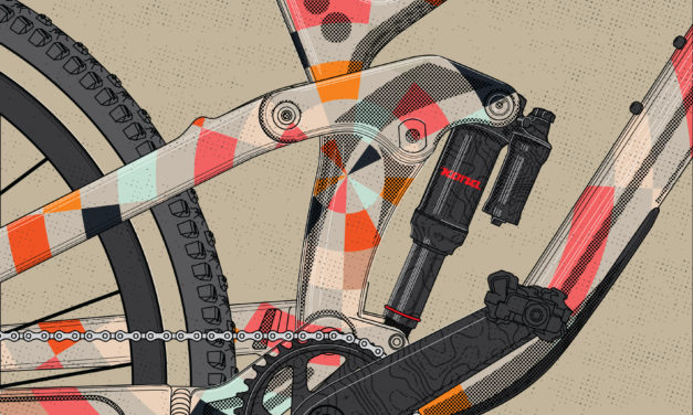 Bicycle Crumbs Posts First Drawing and Part 1 of His Process CR 27.5 Review