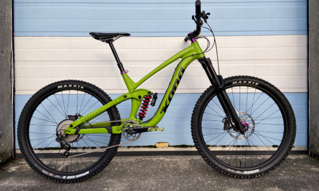 Kona Dream Builds: Chris Trowsdale's Slime Green Process 153 Flies Under The Radar