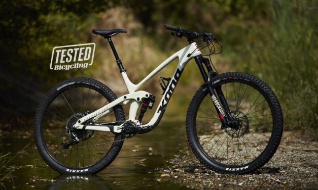 """More maneuverable than a long-travel trail bike should be"" Bicycling Magazine Reviews the Process 153 CR DL"