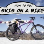 How to Attach Skis to a Bike