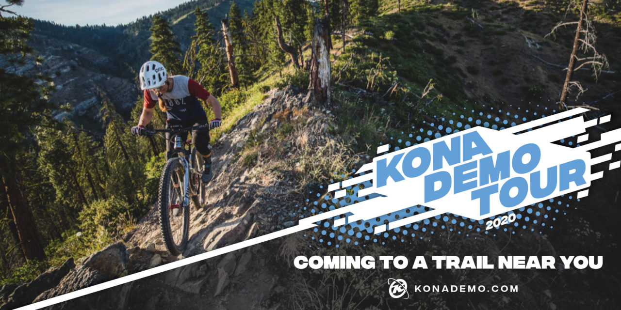 California and Arizona, the KONA Demo Tour is headed your way!