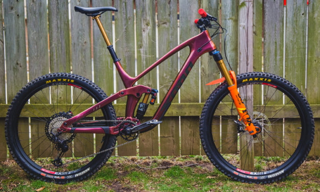 Kona Dream Builds: Orange is still the New Black, Jack's Process 153 CR DL