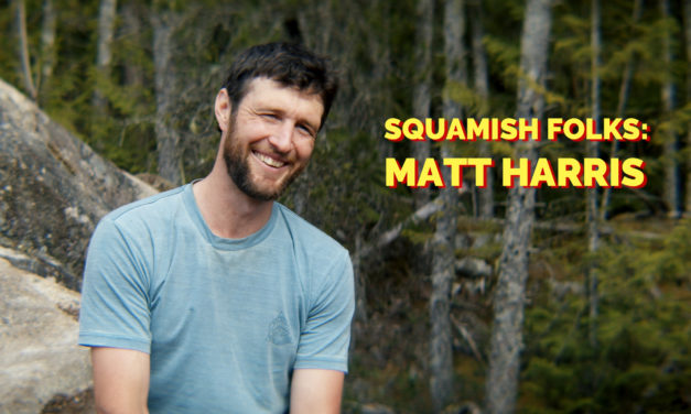 Video: Profile of Trail Builder, Ice-Cream Shop Owner & Rider Matt Harris in 'Squamish Folks'