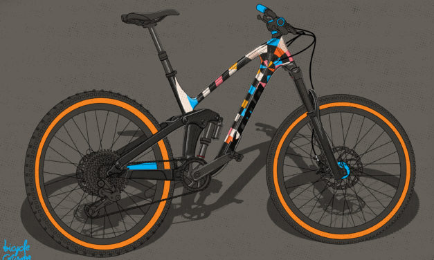 Bicycle Crumbs Posts his Final Process CR 27.5 Review and Epic Illustration