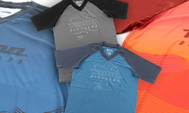 New Kona Riding Jerseys in Stock Now!