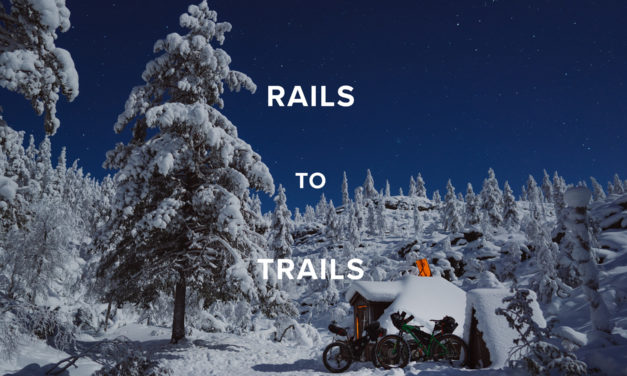 MUST WATCH: Rails TO Trails – Fat Biking in Lapland