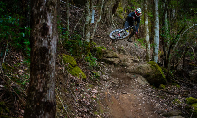 Connor Fearon, Shelly Flood, and Josh Button Podium AT EWS GOLD QUALifier