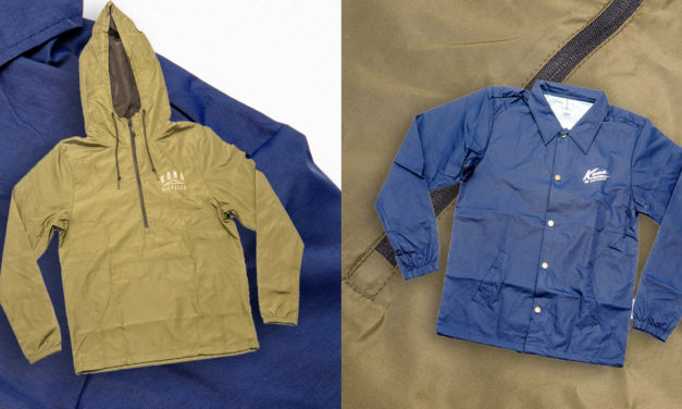 New KONA Anoraks and Coach Jackets Are Available now!