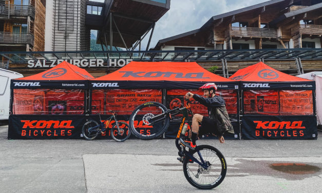 Connor Fearon and Team Are Back Racing World Cup In Leogang!