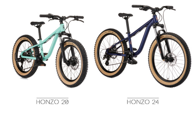 Honzo 20 and Honzo 24-It's Never Too Early To Love A Hardtail