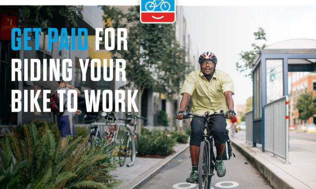 Get Paid For Riding Your Bike To Work