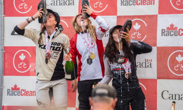 Miranda Miller Finishes Second at Canadian National DH Champs
