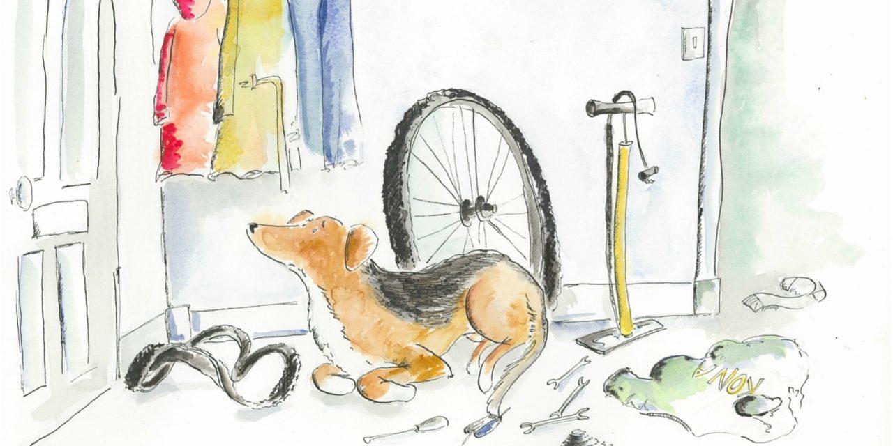 A Biker's Best Friend-Awaiting Your Return