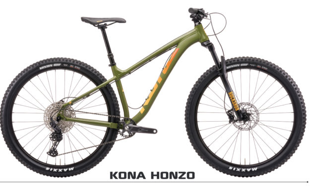 Mountain Bike Action Profiles the Honzo