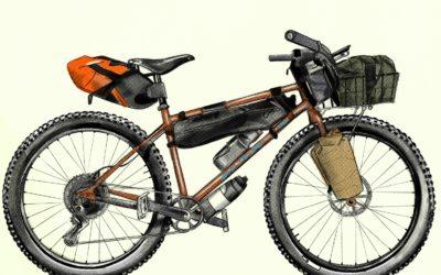 Art + Bikepacking For Suicide Awareness