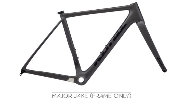 Back IN Black! It's the Major Jake Frame!