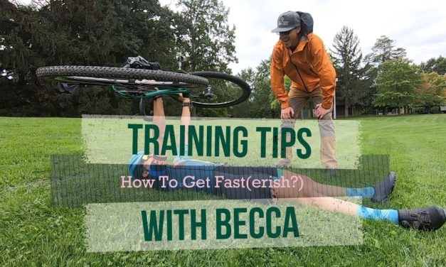 Becca's Blog: How To Get Faster