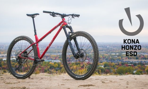 """Vital MTB Reviews the Honzo ESD """"Kona's Honzo ESD is the perfect transition for the hardtail curious"""""""